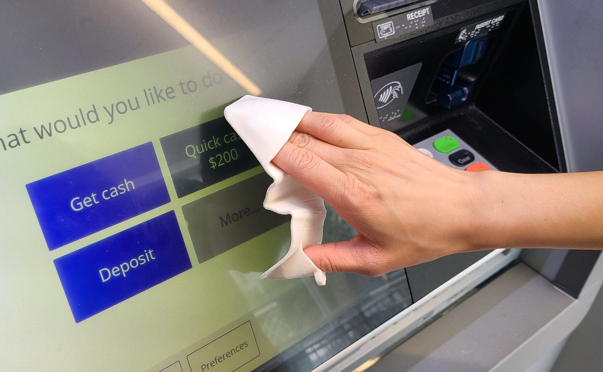 NONTACT at the ATM
